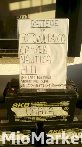 Batterie AGM da 7 a 100 ah FOTOVOLTAICO NAUTICA CAMPER HI FI
